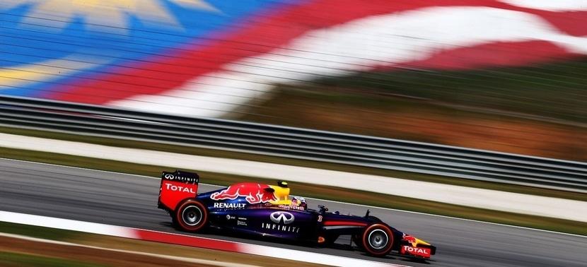 Red Bull en Malasia 2015