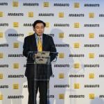 Ricardo Gondo en la inauguración de Renault Arabauto