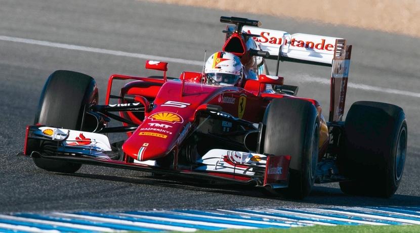 Vettel Ferrari 2015