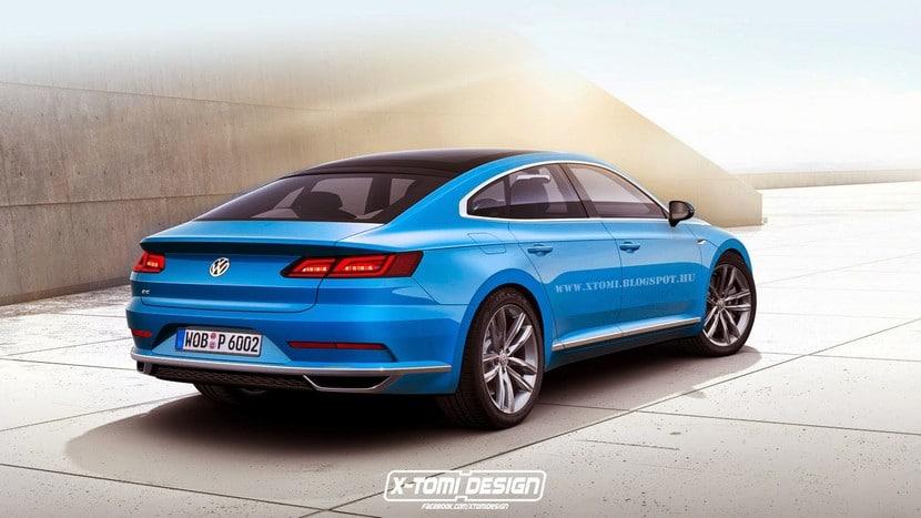 Volkswagen CC 2016 recreación