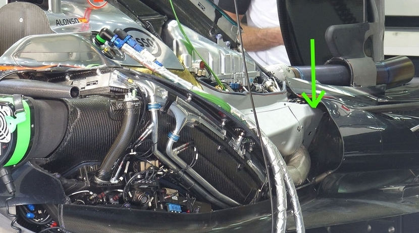 Caja de cambios McLaren MP4-30