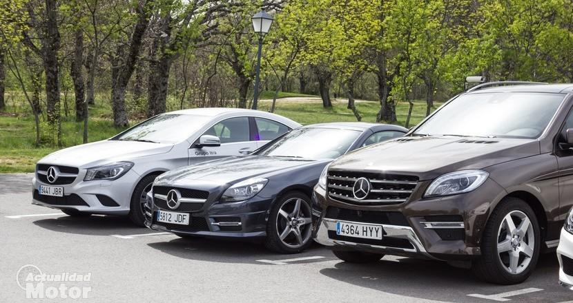 Caravana Dream Cars Grupo Itra Mercedes Benz