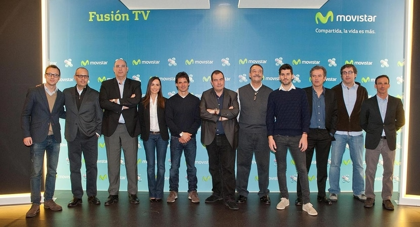 Equipo de retransmisión de Movistar TV