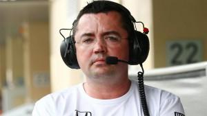 Eric Boullier McLaren Honda