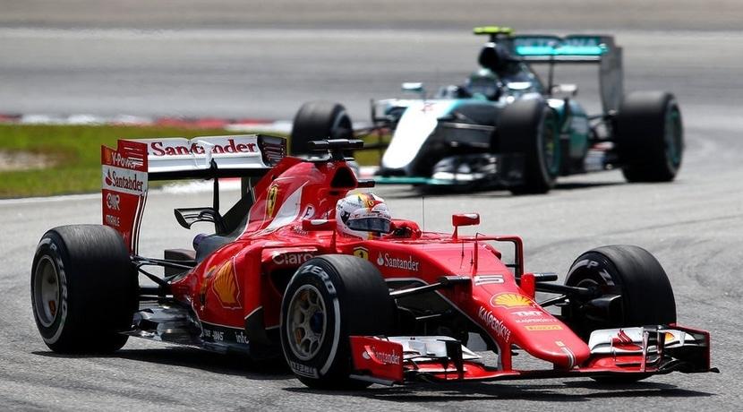Ferrari de Vettel en Malasia