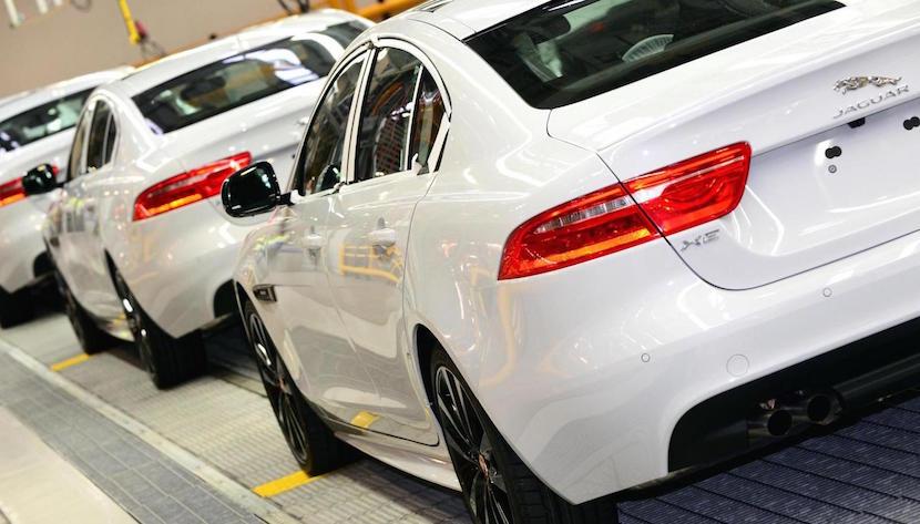 Jaguar XE produccion