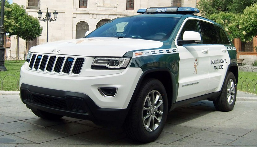 Jeep Grand Cherokee Guardia Civil