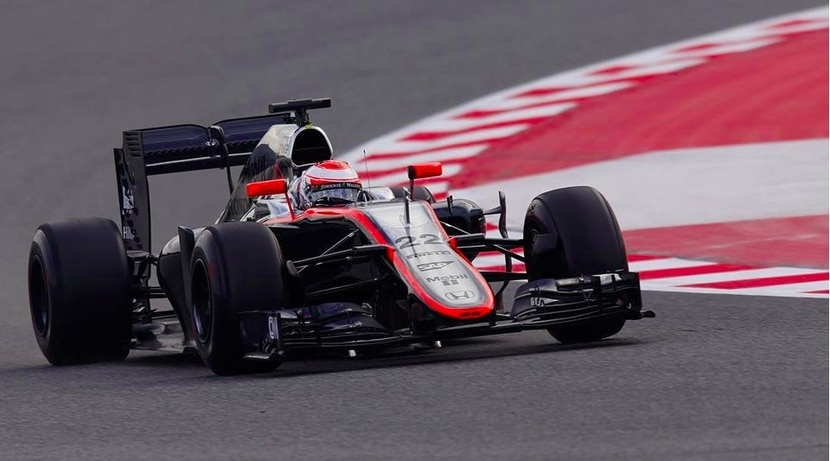 Jenson Button MP4-30