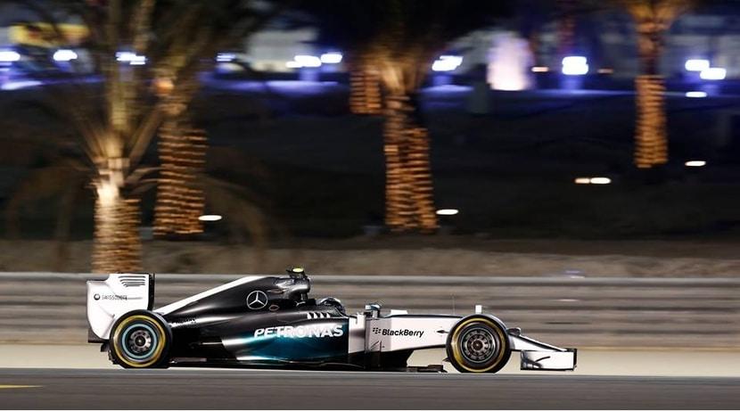 Mercedes en Bahrein 2015