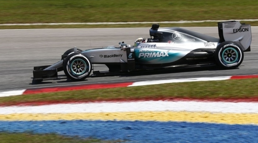 Mercedes GP China