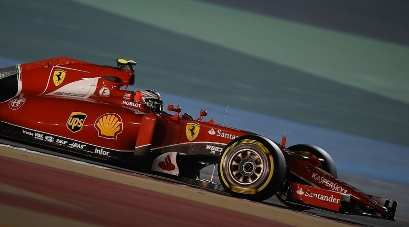 Räikkönen GP Bahrein 2015