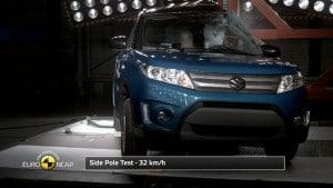 Resultados EuroNCAP Suzuki Vitara 2015