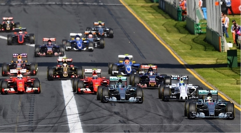 Salida GP Malasia F1