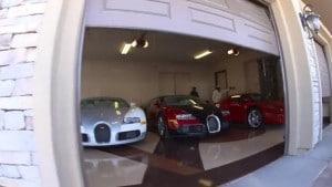 Colección de coches de Floyd Mayweather