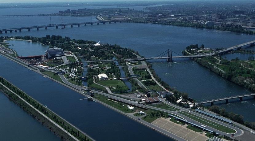 GP de Canadá vista aérea