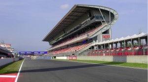 GP de España recta principal