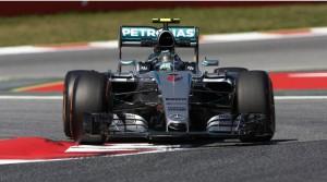 Nico Rosberg en GP de España