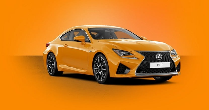 Lexus RC F Luxury