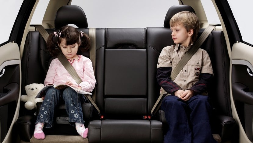 Volvo asiento infantil