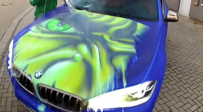 BMW X6 Hulk pintura termocrómica