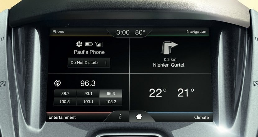 Ford Transit Connect Sync 2