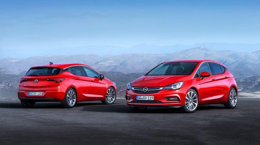 Opel Astra K 2016 detalles