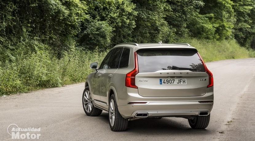 Prueba Volvo XC90 D5