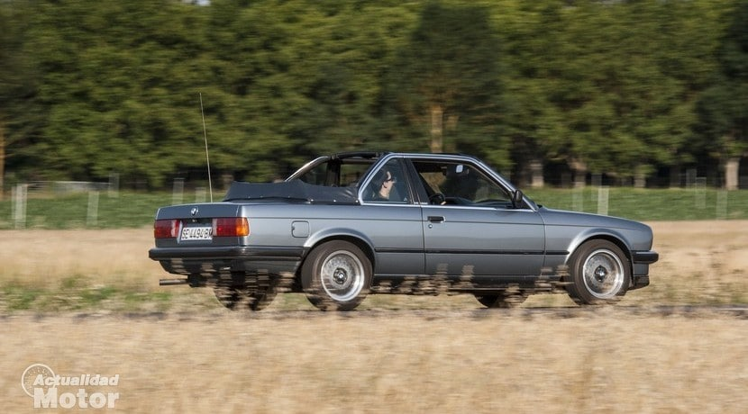 Retroprueba BMW E30 320i Baur TC2