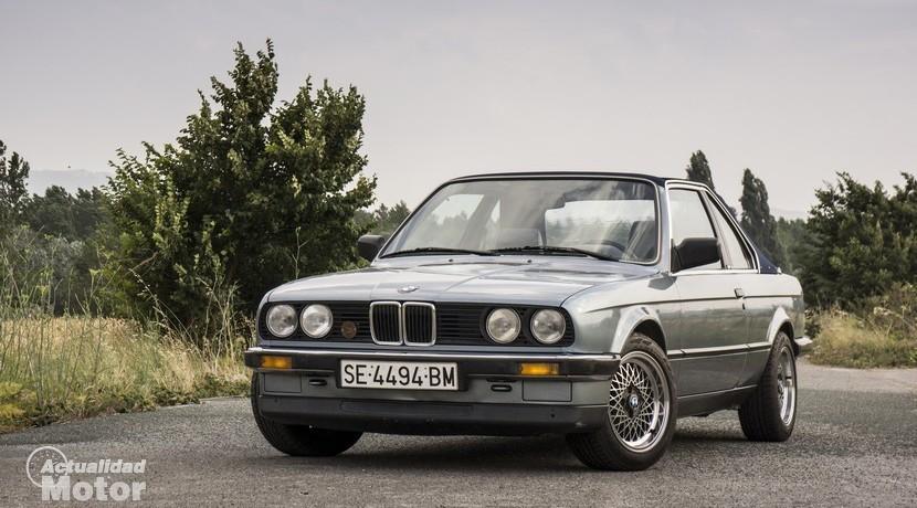 Retroprueba BMW E30 320i Baur TC2