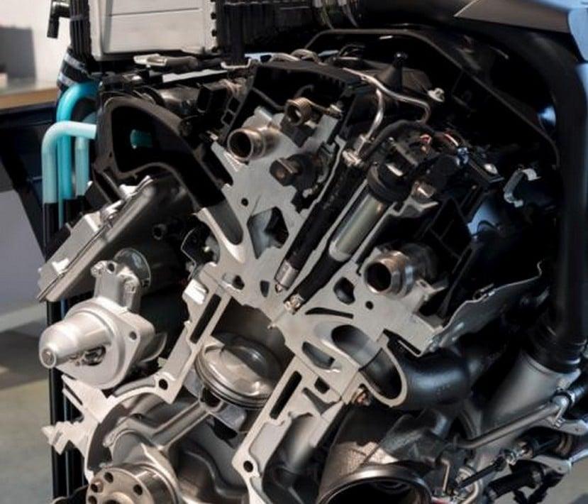 BMW Serie 1 con inyección de agua