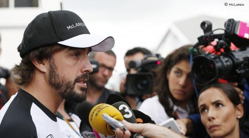 Fernando Alonso prensa