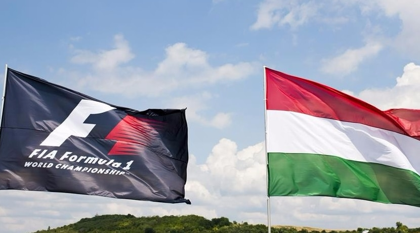 GP Hungría Banderas