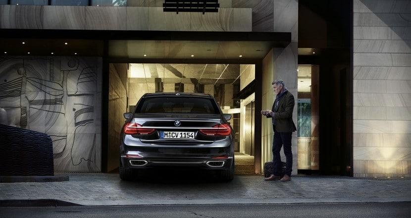 Aparcamiento sin conductor en el nuevo BMW Serie 7