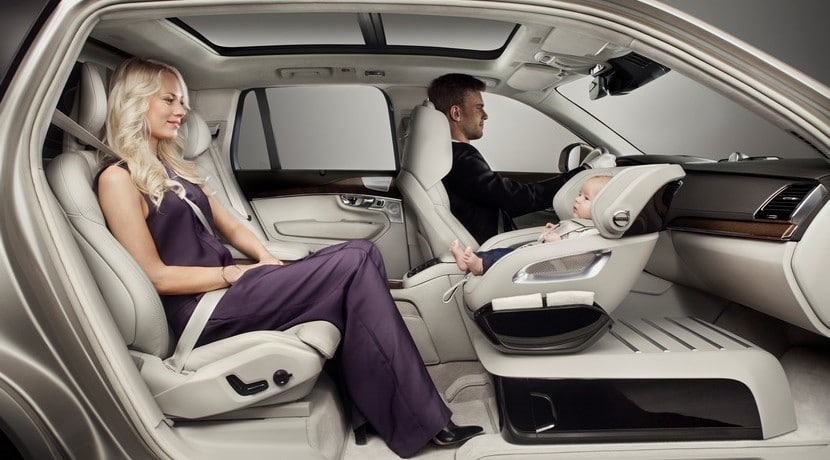 Volvo XC90 Excellence asiento niño