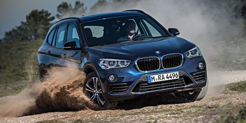 BMW X1 Derrapando