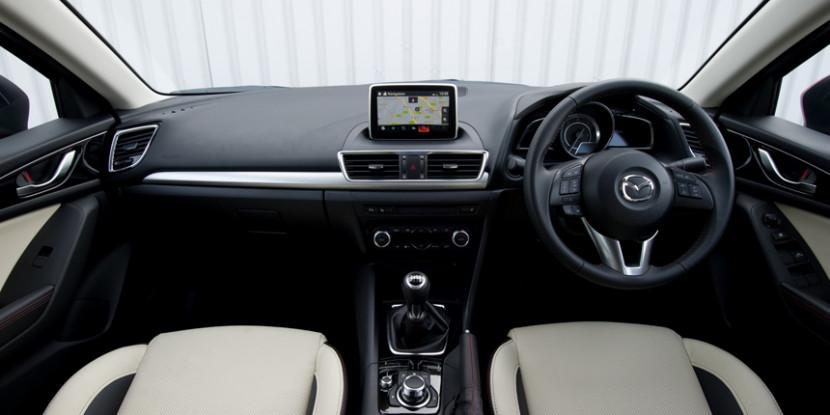 Mazda 3 Interior