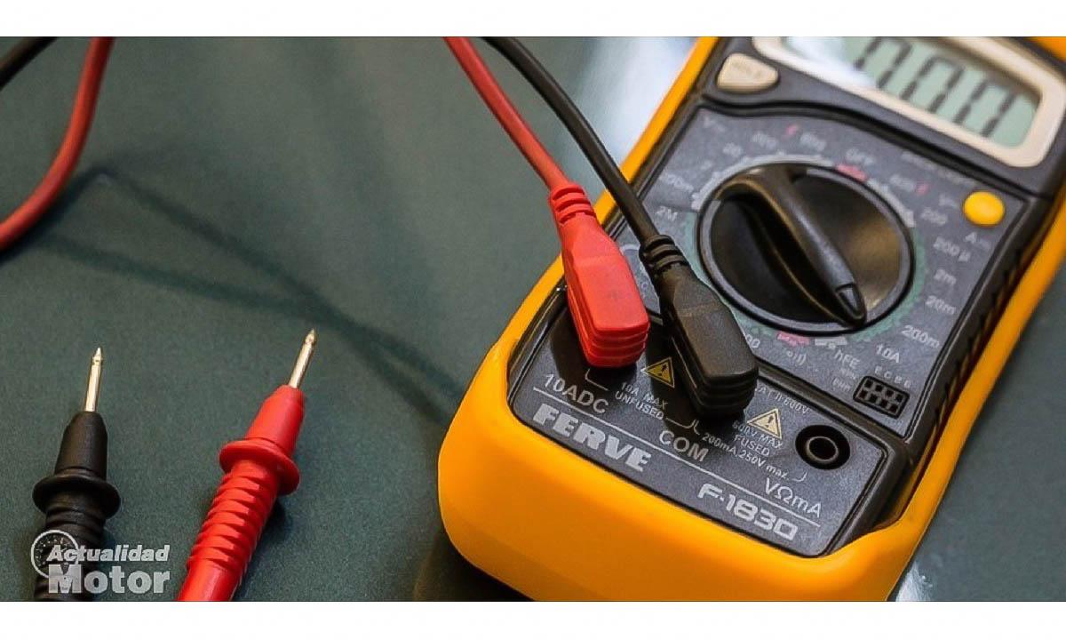 El polímetro es una herramienta imprescindible para detectar fallos eléctricos