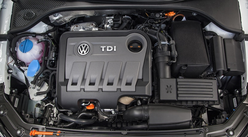 Passat-TDI-engine