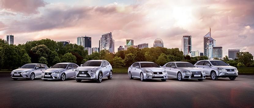 Gama Lexus híbridos