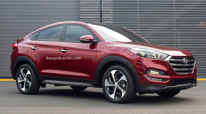 Hyundai Tucson Coupé recreación