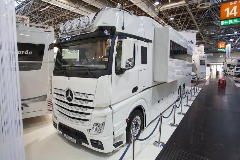 Mercedes Actros autocaravana