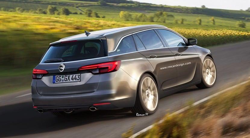 Opel Insignia 2017 recreación