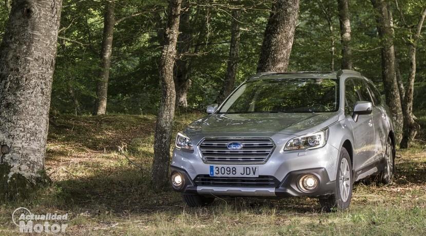 Prueba Subaru Outback 2.0 D Lineartronic