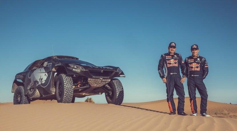 Sébastien Loeb Peugeot Dakar 2016