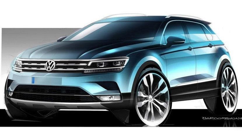 Volkswagen Tiguan 2016 teaser