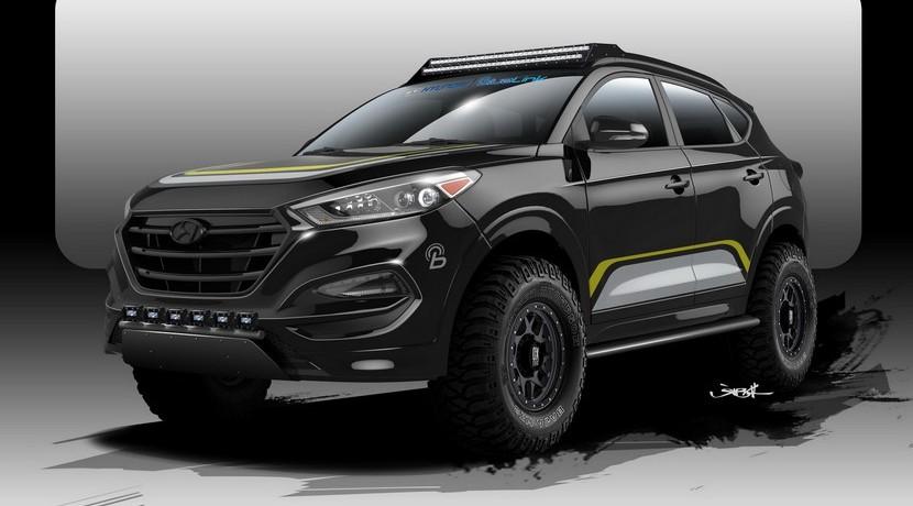 Hyundai Tucson Rockstar Performance 2016 SEMA Show
