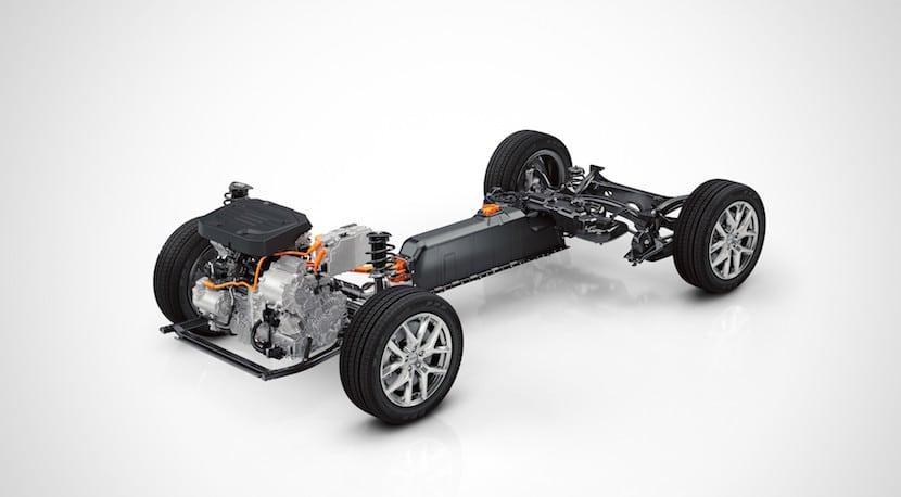 Volvo plataforma modular CMA