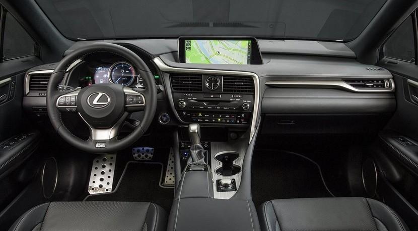 lexus RX 450h 2016 interior