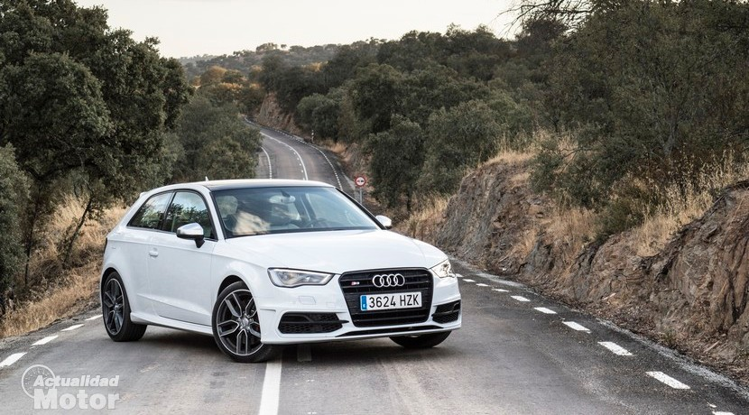 Prueba Audi S3 S tronic 300 CV