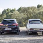 Citroën DS19 1965 y DS 5 60 Aniversario